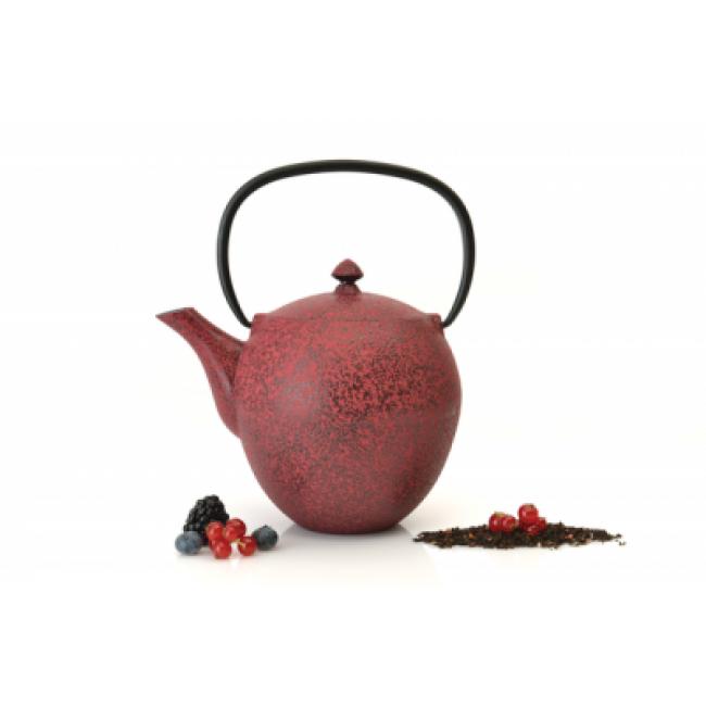 قوری چای چدن برگهف(Berghoff)-قرمز تیره