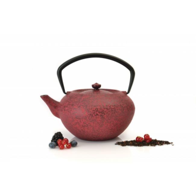 قوری چای چدن برگهف-قرمز تیره