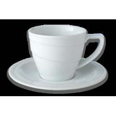 سرویس فنجان صبحانه با نعلبکی برگهف (Berghoff)- سری هتل لاین(6تایی)