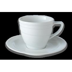 فنجان متوسط(Berghoff)  با نعلبکی برگهف قهوه خوری- سری هتل لاین(6تایی)