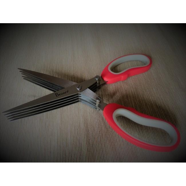 قیچی آشپزخانه / سبزیجات 5 لبه بداف (Bedaff)